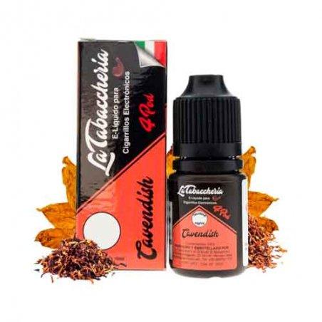 La Tabaccheria E-Liquid 4 Pod Black Cavendish 10ml