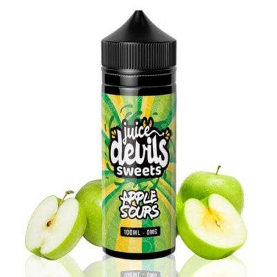 Apple Sours Juice Devils 100ml 0mg