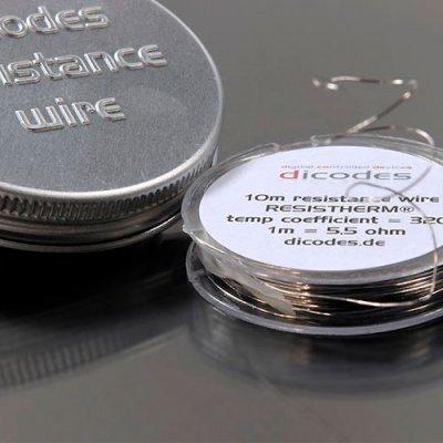 NiFe30 Resistherm 0.28mm 10m Dicodes