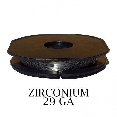 Zirconium hilo resistivo 0,30mm 29 GA 10m Zivipf