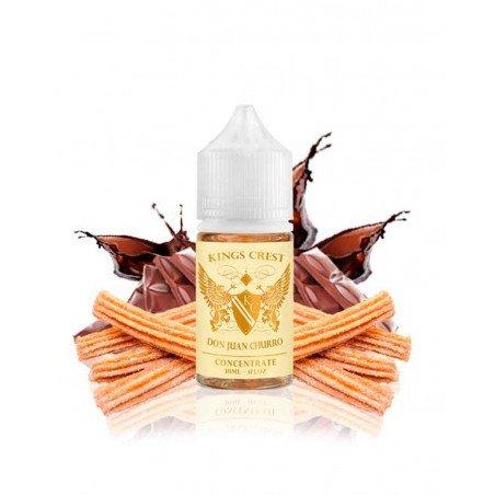 Aroma Don Juan Churro King Crest 0mg 30ml